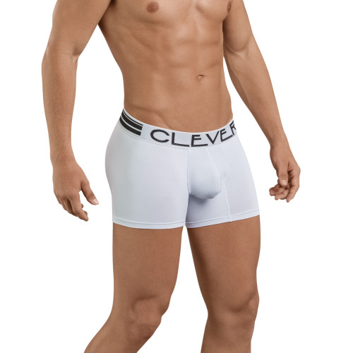 Mens Underwear - Front view of Clever Underwear Sophisticated Boxer - Classic Mens Trunk Underwear