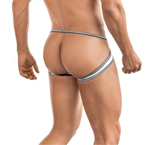 Mens Underwear - Front view of Clever Underwear Prestige Jockstrap - Unusual Jockstrap Style