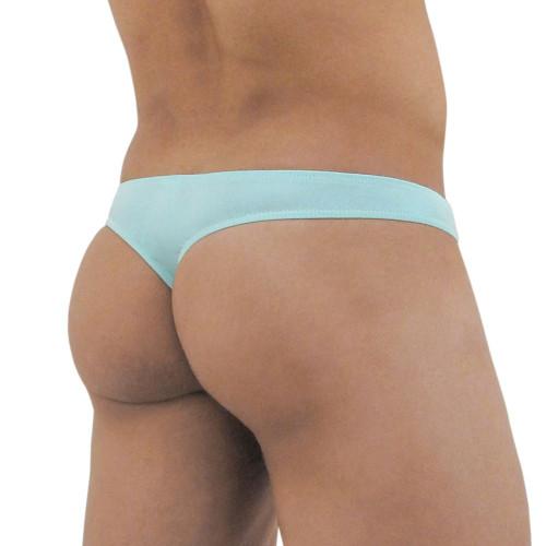 Ergowear Mens Underwear - FEEL Modal Brief in Aqua - Ergonomic Pouch Underwear - Rear