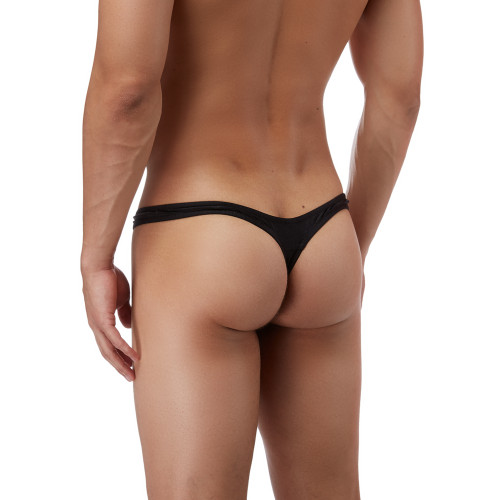 Mens Underwear - Front view of Male Power Bong Thong - Mens Thong Style Underwear