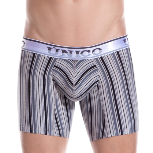 Mens Underwear - Front view of Unico Underwear Mind Art Boxer Brief - Mens Underwear