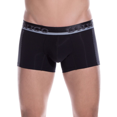 Mens Underwear - Front view of Unico Underwear Puntillizmo Trunks - Mens Underwear