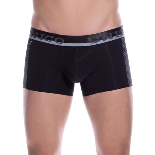 Mens Underwear - Front view of Unico Underwear Puntillizmo Trunks - Mens Underwear