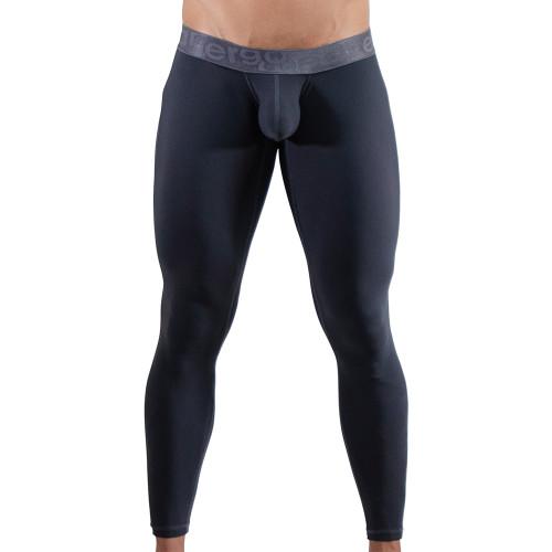 Ergowear Mens Underwear - MAX XV Leggings in Space Grey - Ergonomic Pouch Bulge Underwear - Front