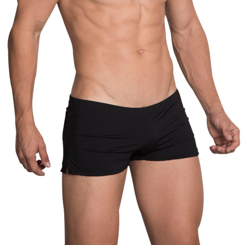 Mens Underwear - Front view of Hidden Underwear Low-Rise Trunks - Comfortable Mens Boxer Style Underwear