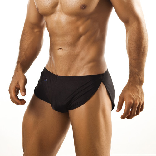 Mens Underwear - Image of Joe Snyder Underwear Running Short - Sexy High Cut Mens Running Shorts