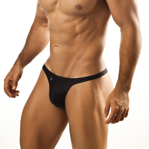 Mens Underwear - Image of Joe Snyder Underwear Thong - Sexy Bulge Enhancing Male Thong Underwear