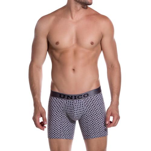Mens Underwear - Image of Unico Mens Underwear Percepcion Boxer Brief - Cotton Long Leg Trunk Style Mens Underwear