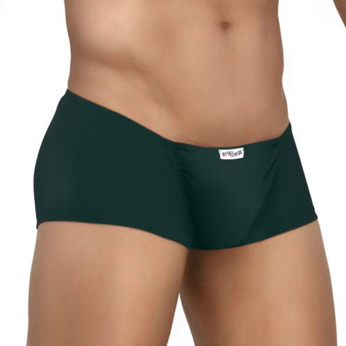 Mens Underwear - Image of Ergowear Underwear FEEL Modal Mini Boxer in Pine Green - Ergonomic Pouch Mini Trunk