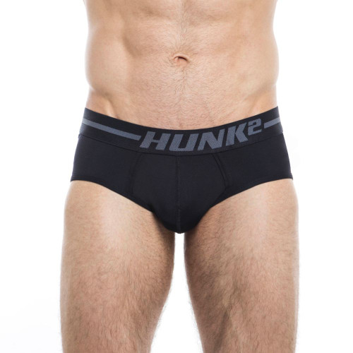 Mens Underwear - Image of Hunk² Underwear Adonis Dunkel² Briefs - Sophisticated & Stylish Mens Designer Briefs