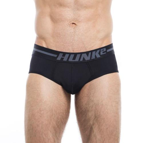 Mens Underwear - Image of Hunk² Underwear Adonis Dunkel² Briefs - Sophisticated & Stylish Mens Designer Briefs