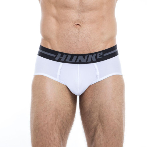 Mens Underwear - Image of Hunk² Underwear Adonis Klar² Briefs - Stylish Classic Mens Designer Brief Underwear