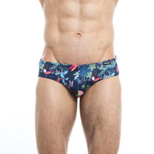 Mens Underwear - Image of Hunk² Swimwear Tucano² Reversible Swim Briefs - Stylish & Innovative Mens Swimwear