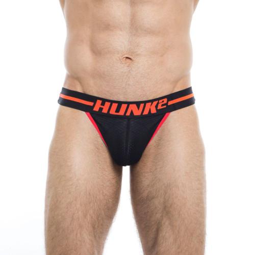 Mens Underwear - Image of Hunk² Underwear Phoenix Feuer² Jockstrap - Sports Mesh Athletic jock Underwear