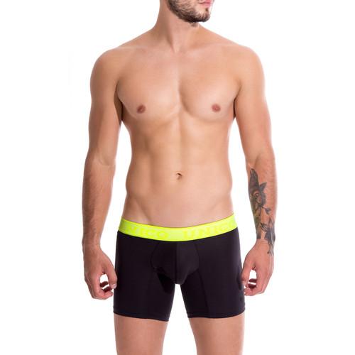 Mens Underwear - Unico Underwear COLORS Corriente Boxer Briefs - Traditional Longer Leg Mens Trunk Underwear