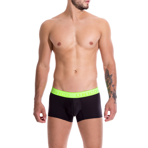 Mens Underwear - Unico Underwear COLORS Captacion Trunks - Shorter Leg Boxer Brief Style Mens Underwear