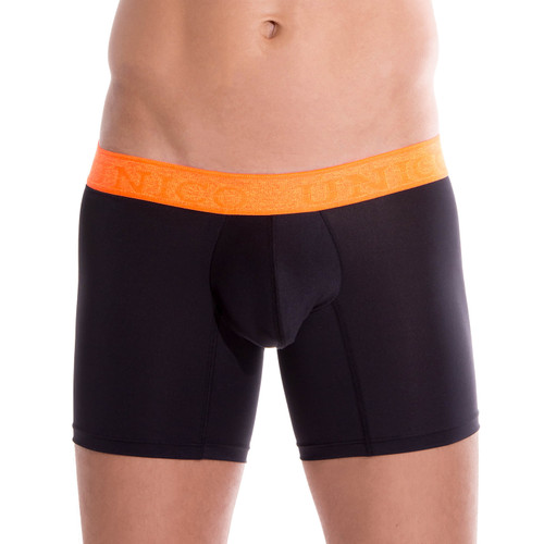 Men Boxer Briefs & Trunks - Unico Underwear COLORS Vigoroso Boxer Briefs - Traditional Longer Leg Mens Trunk Underwear