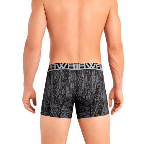 Mens Underwear - HAWAI Underwear Abstract Waves Classic Boxer Brief - Mens Trunk Style Underwear