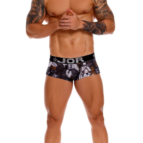 JOR Underwear Will Boxer - Bold & Sophisticated Printed Trunk Style Mens Underwear