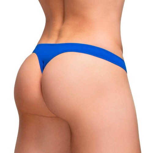 Ergowear Underwear X4D Thong in Royal Blue - Ergonomic Enhancing Pouch Male Thong