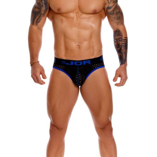 JOR Underwear Rangers Bikini Thongs - Mesh Male Thong Underwear With Bikini Style Front