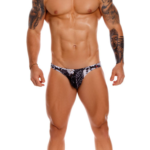 JOR Underwear Will Bikini Jockstrap - Sexy Low Cut Bikini Brief Style Mens Jock Underwear