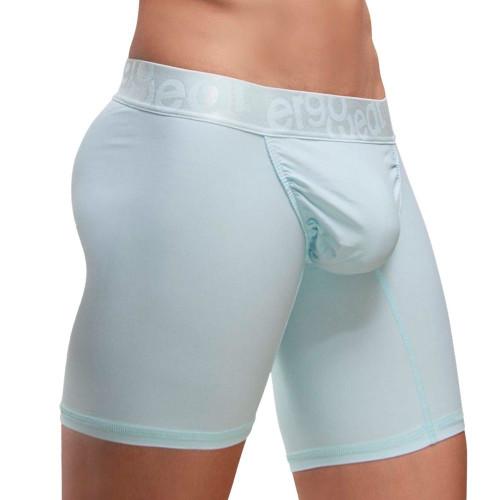 Ergowear Underwear FEEL XV Boxer Briefs in Mint Green - Traditional Long Leg Trunk Underwear