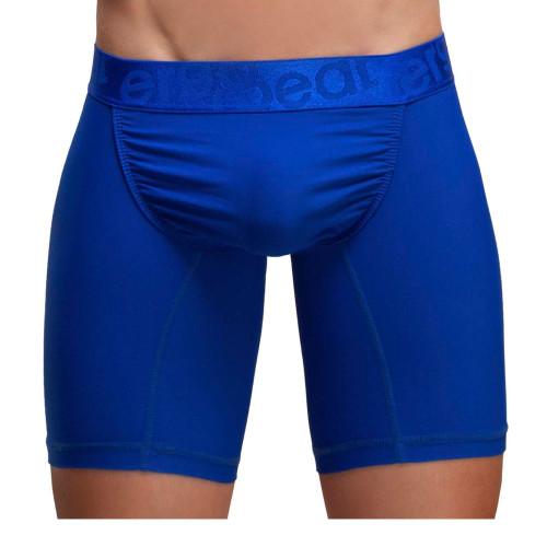 Ergowear Underwear FEEL XV Boxer Briefs in Royal Blue - Long Leg Trunks With Ergonomic Pouch