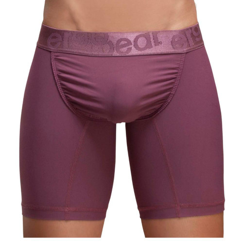 Ergowear Underwear FEEL XV Boxer Briefs in Marsala Pink - Ergonomic Pouch Long Leg Trunks