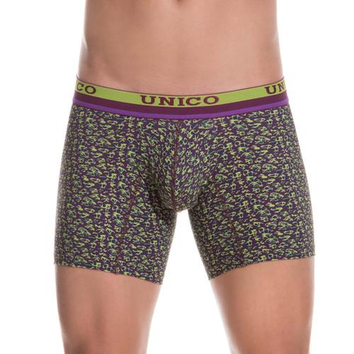 Mundo Unico Underwear Huerta Boxer Briefs - Longer Leg Mid-cut Trunk Style Mens Underwear