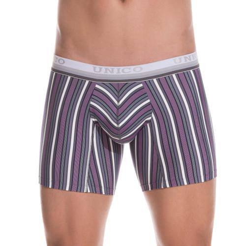 Mundo Unico Underwear Sanscrito Boxer Brief - Longer Leg Mid-cut Trunk Style Mens Underwear