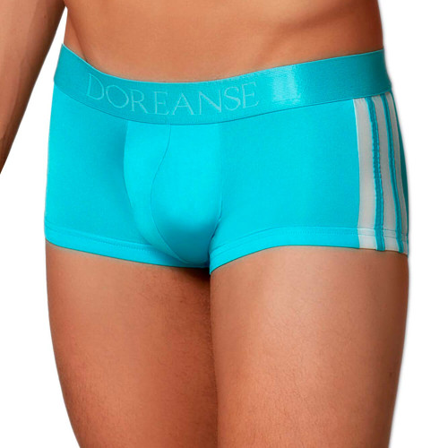 Doreanse Underwear Silky Athletic Trunk - Smooth Athletic Style Mini Trunk Style Boxer