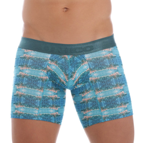 Mundo Unico Underwear Waterfront Boxer Briefs - Comfortable Pouch Boxer Short Underwear