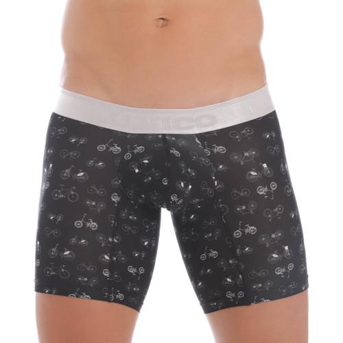 Mundo Unico Underwear Velocipede Boxer Briefs - Supportive Pouch Boxer Short Underwear