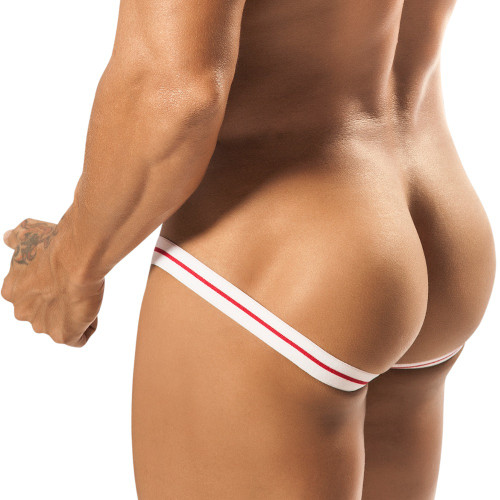 Mens Underwear - Front view of PPU Slinger Sport Jockstrap