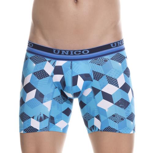Mens Underwear - Front view of Unico Boxer Briefs Maker - Mens Underwear
