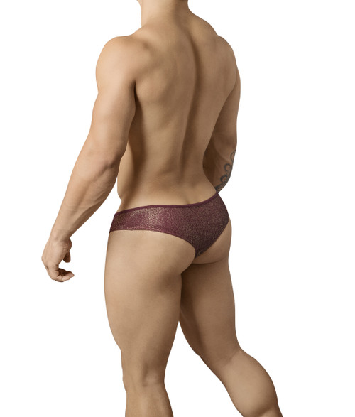 Mens Underwear - Front view of Pikante Neutral Thongs - Mens Sexy Thong
