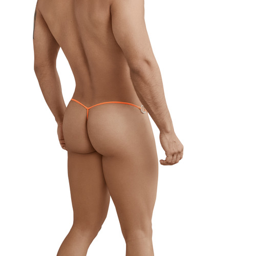 Mens Underwear - Front view of Pikante Fascination Thong - Mens Thong