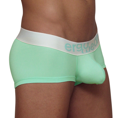Mens Underwear - Front view of Ergowear MAX Suave Boxer - Green