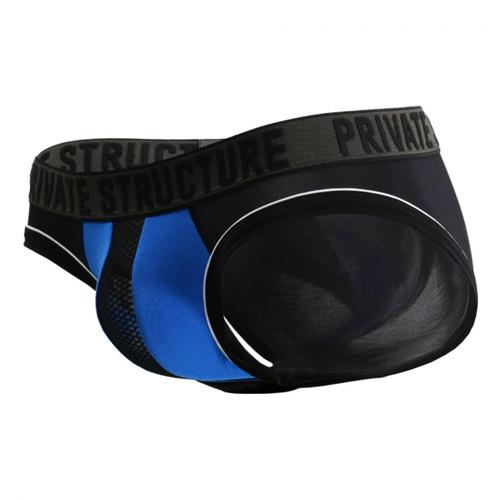 Mens Underwear - Front view of Private Structure Platinum Modal Mini Brief