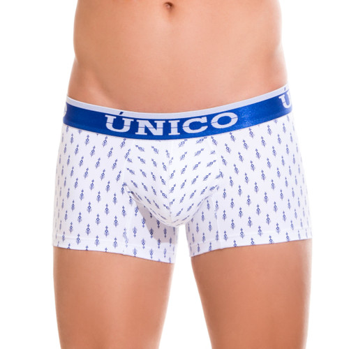 Mens Underwear - Front view of Unico Boxer Trunk Expression - Mens Undies
