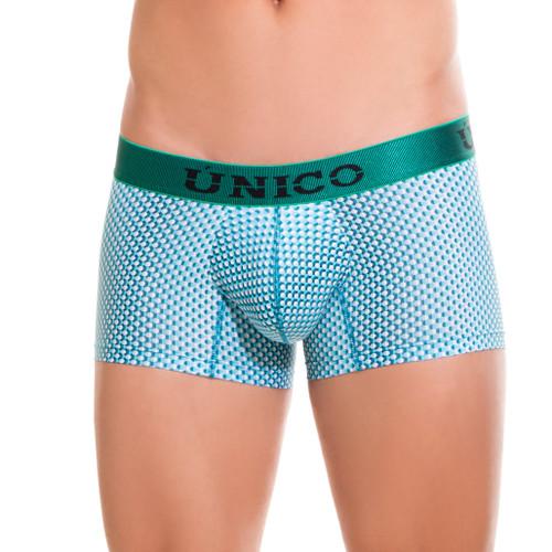 Mens Underwear - Front view of Unico Boxer Trunk Prospective - Mens Underwear