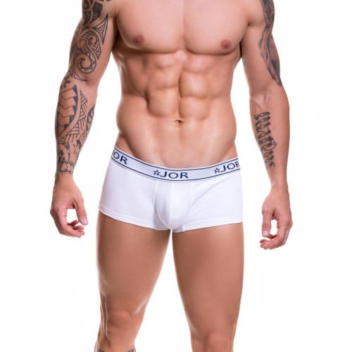 Mens Underwear - Front view of JOR Life Boxer Briefs - Cotton Mens Trunk