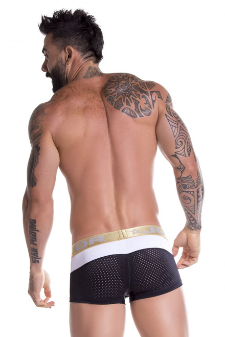 Mens Underwear - Front view of Soho Boxer Briefs - Trunk Style Mens Boxer