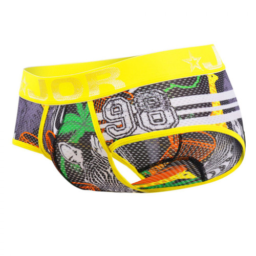 Mens Underwear - Front view of JOR Africa Briefs - Mens Underwear