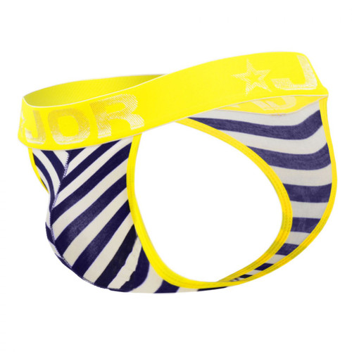 Mens Underwear - Front view of JOR Travel Thong - Wide Rear Male Thong