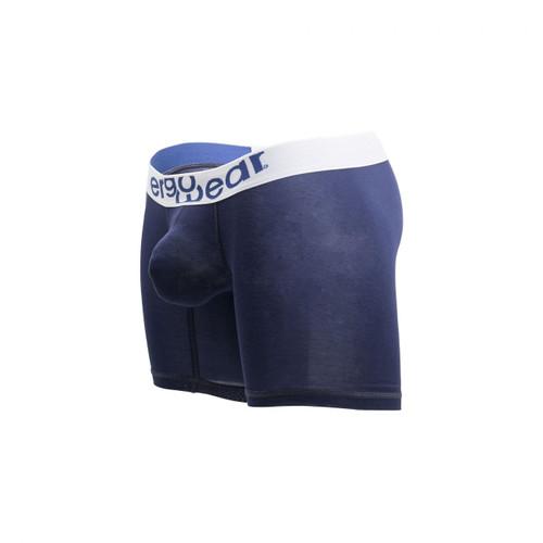 Mens Underwear - Front view of Ergowear MAX Modal Boxer Briefs - Navy