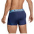 Clever Carcalla Boxer - Mens Trunks Style Underwear with Mesh Panels