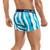 Mens Underwear - Front view of Clever Underwear Richness Boxer - Trunk Style Mens Underwear