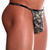 Mens Underwear - Front view of Doreanse Camouflage Thong - Camo Print Male Thong